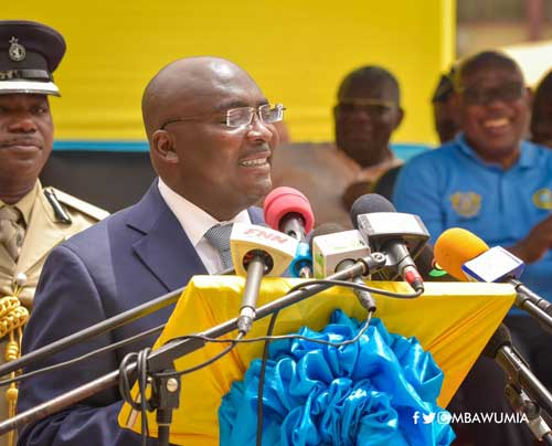 Vice President Dr. Bawumia speaks at the launch of the 2018 Tax and Good Governance Week in Accra on April 06, 2018