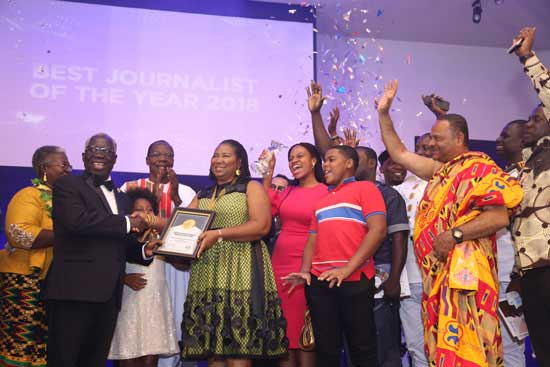 Journalist of the year; the journey so far
