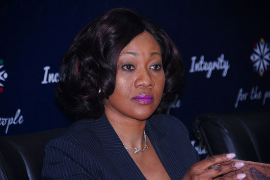 Mrs Jean Mensa, Chairperson of the Electoral Commission