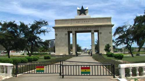 Freedom and Justice Arch, Accra, Ghana
