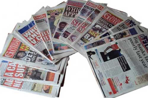 Do our newspapers really want to be in business or just publishing their Obituaries? Image credit - ghanacelebrities
