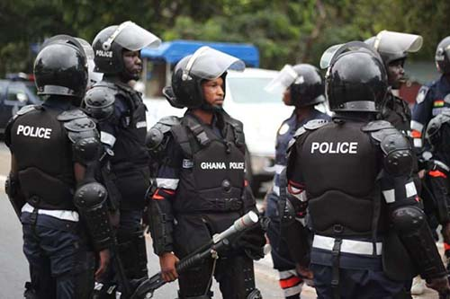 Police deploy personnel to fight criminals at Kasoa