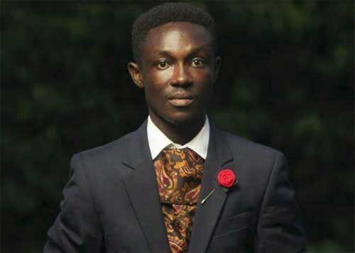 The writer, Osei Godfred