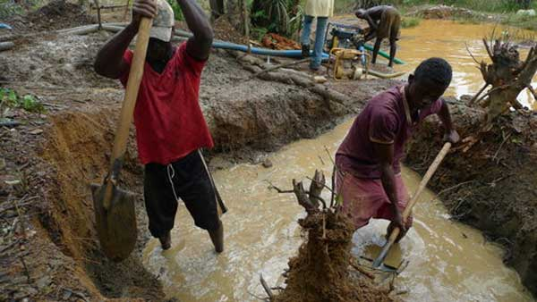 Are The Health Consequences of Illegal Mining A Concern? Image credit - DW