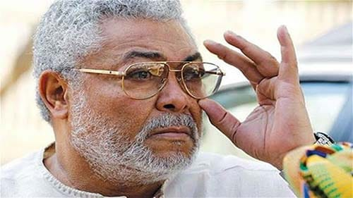 Did Jerry Rawlings really cry that day?