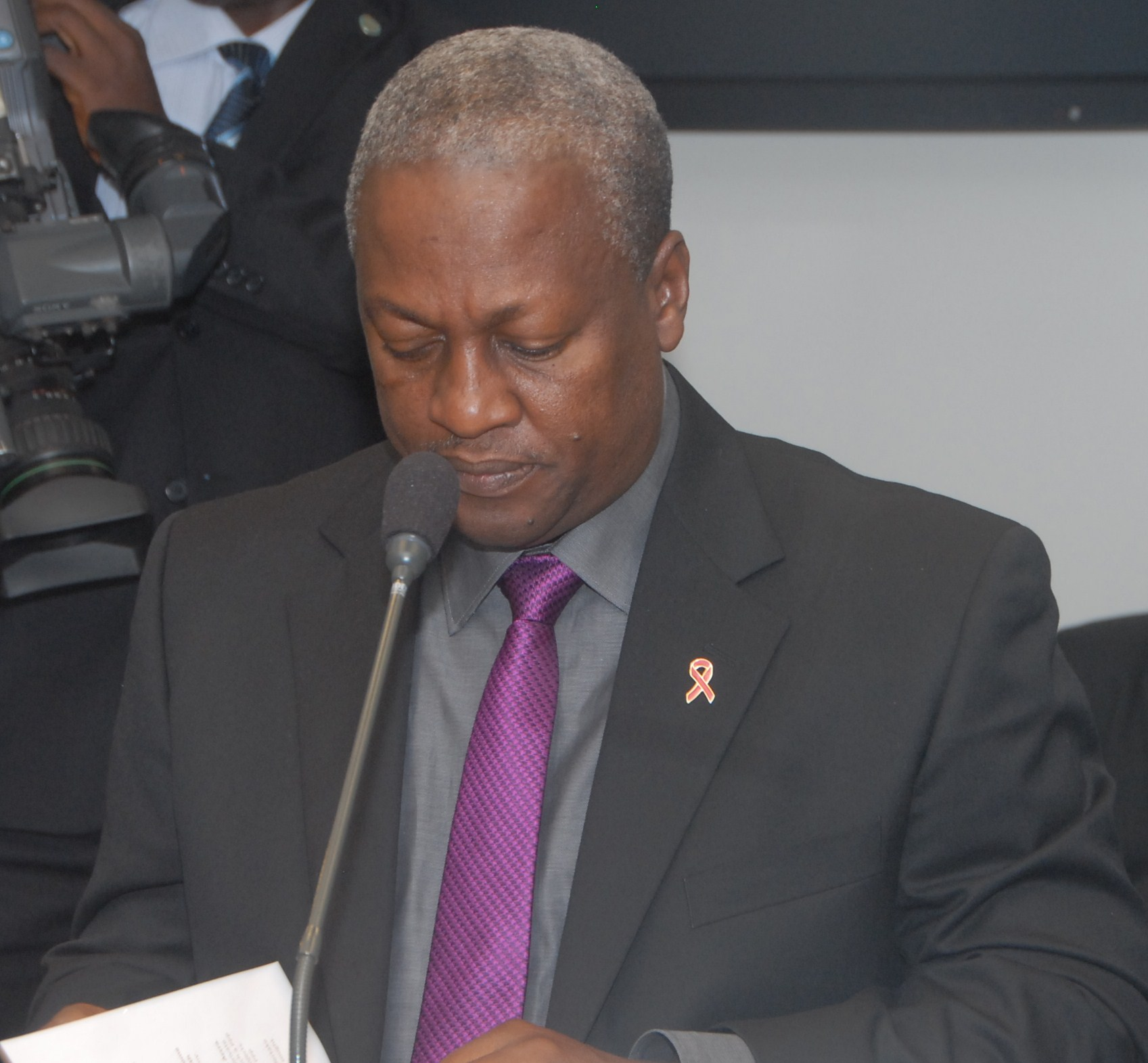 Former President Mahama denies allegation of appropriating military lands