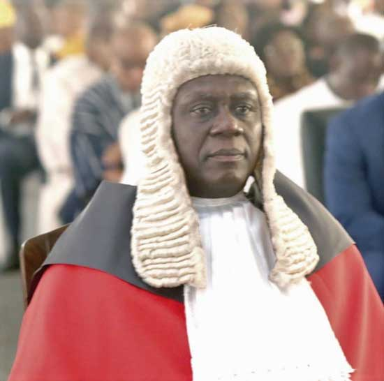Justice Kwasi Anin Yeboah - Chief Justice