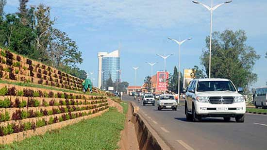 There is a conscious effort to beautify the city. Pedestrian crossings are provided at the right places and motorists respect the right of people to use the road so there is harmony. Image credit - Kigali Times