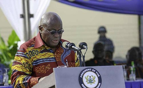 US$40 million to upgrade facilities in 75 SHS - Nana Akufo-Addo