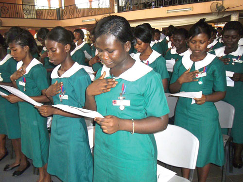 Of Restored Nurse Trainees' Allowances