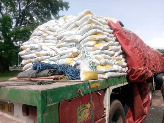 Smuggling of fertilizers under Planting For Food And Jobs Initiative
