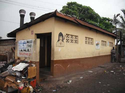 Ghana among world top 10 countries without decent toilets. Photo credit - respectwomen