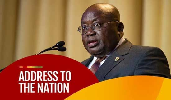 Full Text: Address To The Nation By The President Of The Republic, Nana Addo Dankwa Akufo-Addo, On Updates To Ghana's Enhanced Response To The Coronavirus Pandemic, Update No. 24