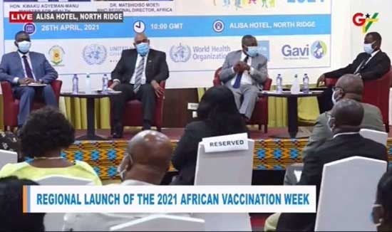 The importance of vaccines as Ghana hosts 2021 Africa Vaccination Week