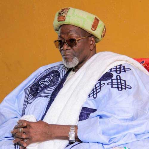 The King Of Dagbon,  His Royal Highness, Yaa Naa Abukari Mahama II.  File image