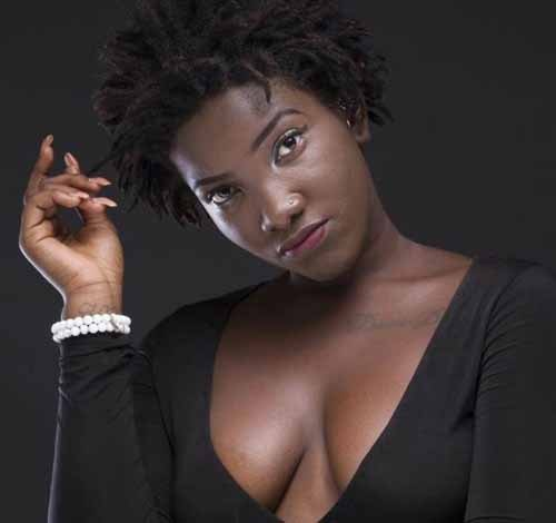 Dancahall Diva, Priscilla Opoku-Kwarteng, known in the music industry as Ebony Reigns.