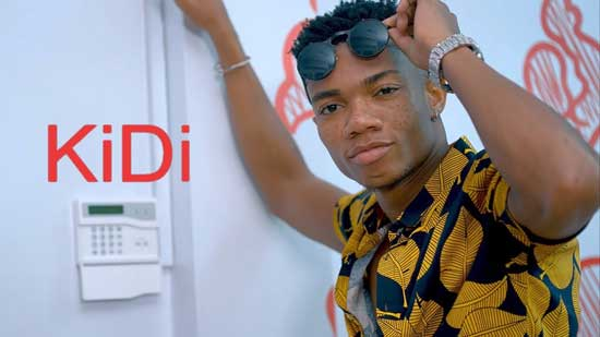 KiDi Turned Away From Accra FM's Studio for Lateness