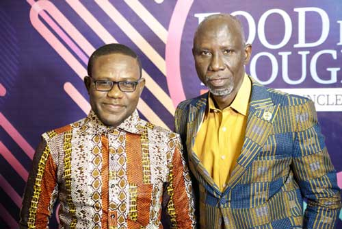 Kobina Ansah (L) with Uncle Ebo Whyte