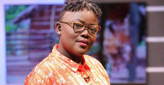 Nana Yaa Brefo Quits Multimedia Group. Image credit - Adomtv