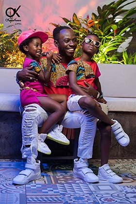Okyeame Kwame Joins David Beckham, Hugh Jackman as UNICEF Super Dad Ambassadors