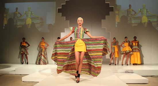 Rebuilding the African fashion industry in the (post) COVID-19 era: thinking digital and circular solutions. Image credit - fashionomicsafrica