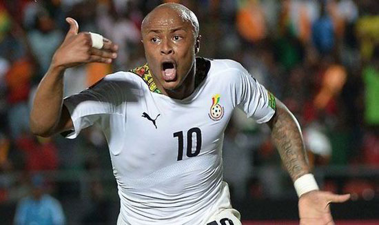File image - André Ayew