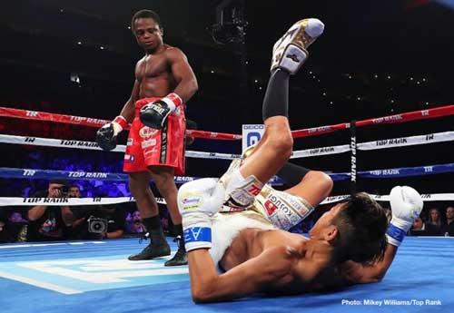 Video: Isaac Dogbe Knocks Out Hidenori Otake in Round 1 (Full Fight)