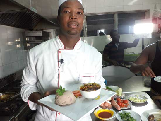Chef Amoo Addo to speak on how food can foster stronger relations between Europe and Africa