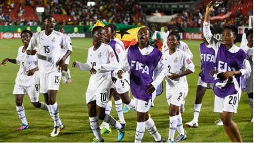 File image - Ghana's Black Princesses, They have participated in the last four editions of the World Cup..