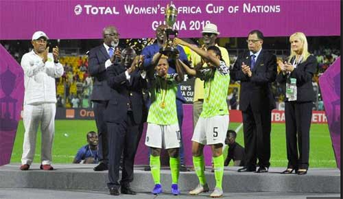 AWCON 2018: Nigeria Retains Title as South Africa Pays The Penalty