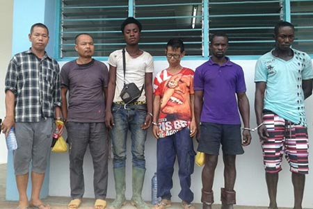 7 Chinese, 3 Ghanaians arrested for illegal mining