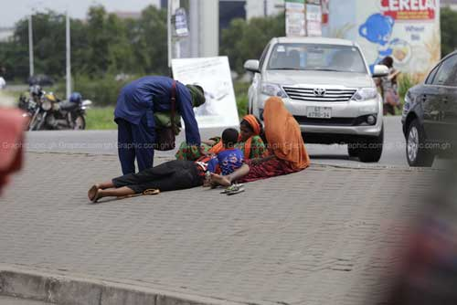 Initiative takes 71 beggars off Accra streets