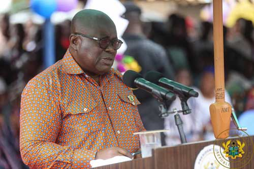 Akufo-Addo chides pessimists of double track system