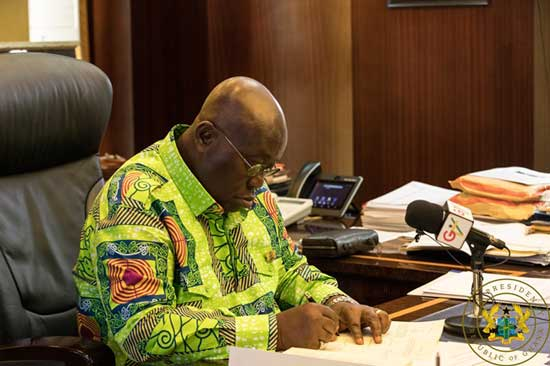 President Akufo-Addo Assents To Right To Information Act