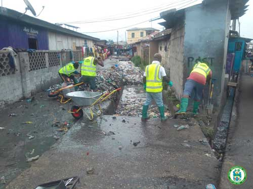 AMA undertakes routine clean-up exercise in sub-metropolitan areas