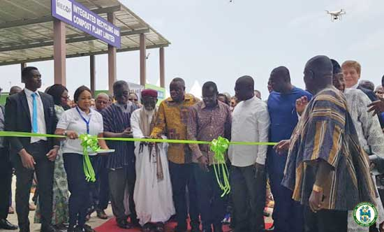 Clean Accra Agenda: Integrated Recycling and Compost Plant commissioned
