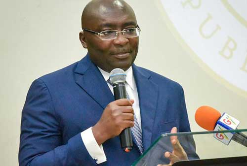 Our dams are not like guinea fowls that will fly to Burkina Faso - Bawumia to NDC