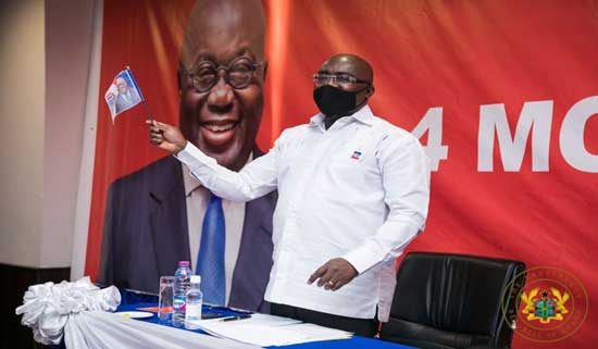 Election 2020: Bawumia partners Akufo-Addo to complete NPP's presidential ticket