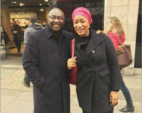 Recovering Vice President Bawumia spotted on the streets of London