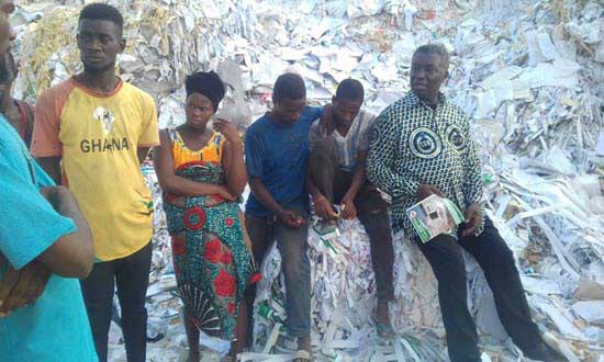 Minister threatens to shut down toilet roll factory over poor waste management practices