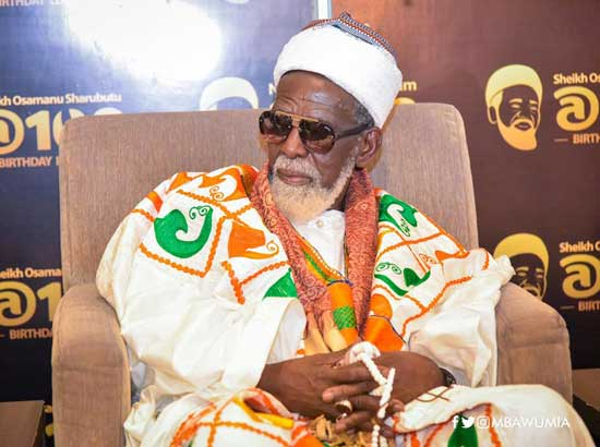 Sheikh Osman Nuhu Sharubutu - National Chief Imam