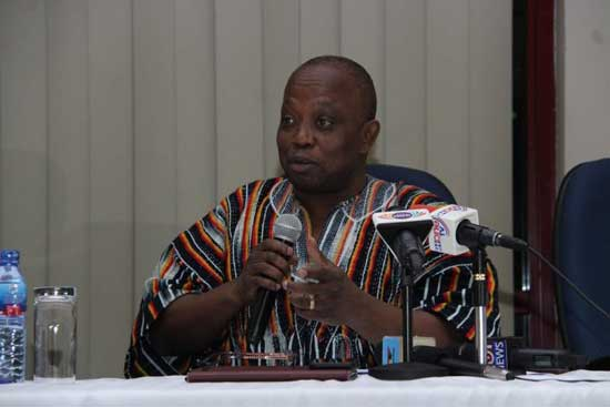 Mr. Daniel Yaw Domelevo, Auditor-General of Ghana