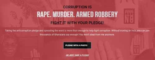 Corruption is Rape - New anti-corruption campaign launched