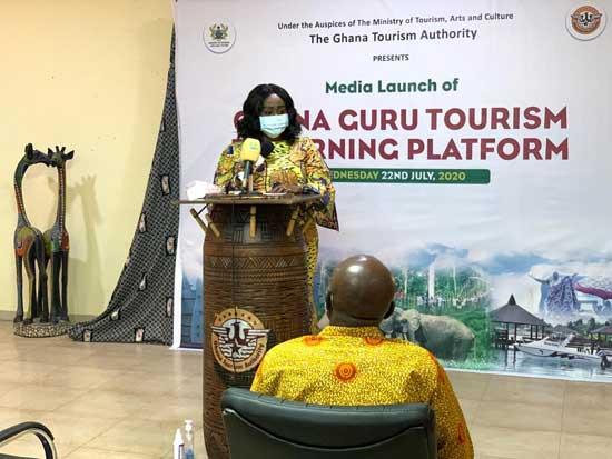 Minister launches Ghana Guru E-Learning Platform to boost tourism