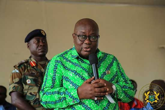 We haven't abandoned T'di girls – Akufo-Addo reiterates in Western Region