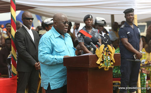 President Akufo-Addo Special Guest of Honour at the 60th Anniversary celebration of Okuapeman School on Saturday, February 11, 2017.