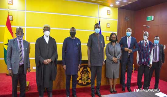 Task-Force For Establishment Of Ghana's Early Warning Centre Inaugurated