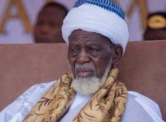 National Chief Imam, Sheikh Usman Nuhu Sharubutu