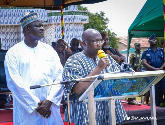 Pwalugu Dam will be the largest single investment in northern Ghana since independence – Veep Dr. Bawumia