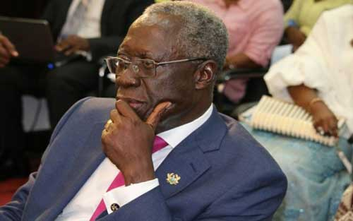 Snr. Government Minister, Mr. Yaw Osafo Marfo.